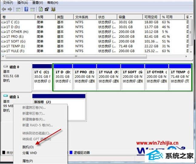 win7 64位旗舰版系统下如何将隐私文件藏在虚拟硬盘中
